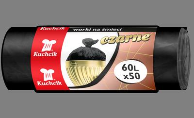 Мешок HDPE 60л/50шт